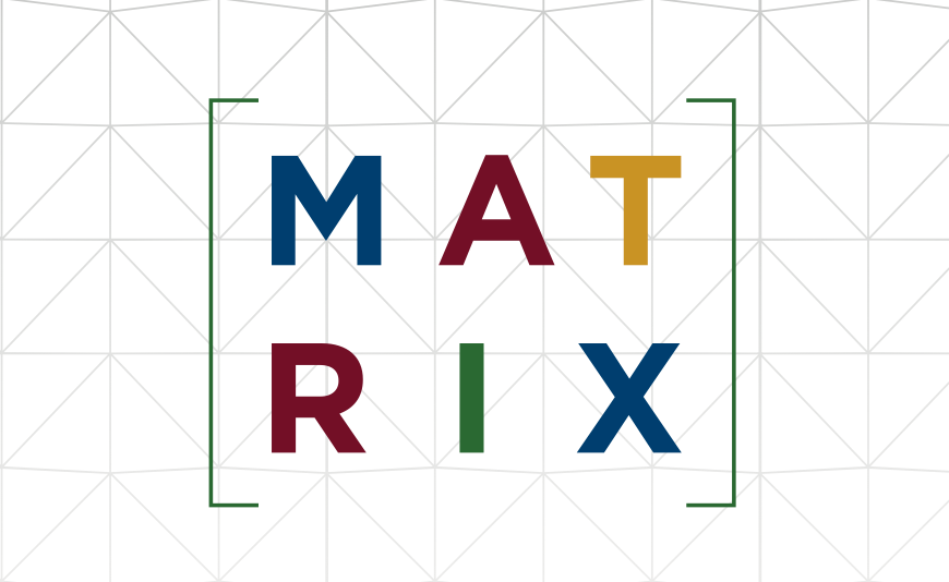 MATRIX logo bg